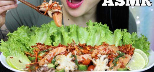 Sas Asmr Asmr Vids Asmr thai spicy seafood boil eating sounds no talking sas asmr загрузил: sas asmr asmr vids